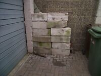 breeze block size 600mm*200mm second hand 45 in number