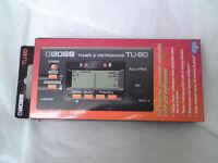 *REDUCED* Boss TU-80 Tuner & Metronome