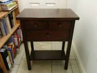 Telephone/side table