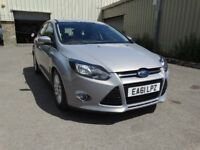 2011 FORD FOCUS TITANIUM 1.6 TDCI ECONETIC, FULL SERVICE HISTORY, ONLY 69,000 MILES, £20 A YEAR TAX