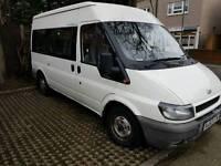 Minibus private hire with driver