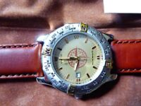 """New """"Domain"""" Gent's compass watch by Mary Kay"""
