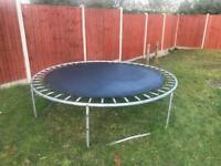 8 feet Trampoline, collect LU4