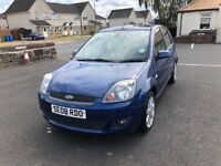 2008 FORD FIESTA ZETEC BLUE EDITION 1 YEARS MOT FACELIFT MODEL SERVICE HISTORY PX WELCOME £1600