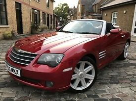 Chrysler Crossfire 3.2 Roadster 2dr**ONLY 1 OWNER FROM NEW**FSH** 2005 (05 reg), Convertible