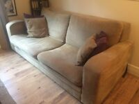 2 Sofas, small and large 2 seater