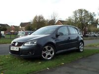 VOLKSWAGEN GOLF GTI 2.0 TURBOCHARGED 5 DR LEATHER VW BLUE GRAPHITE CARBON FIBRE 200 BHP FSH 2 OWNERS