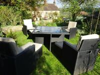 Beautiful Garden Table and Chair Furniture Set
