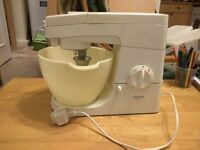 Kenwood Kitchen Chef Mixer and accessories