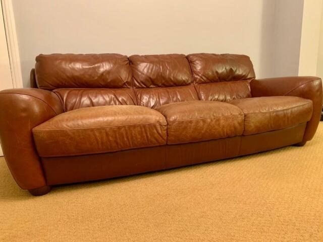 3 Seater Genuine Quality Leather Sofa