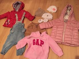 Beautiful baby girl clothes 0- 6 months