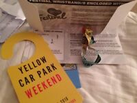 1x V Festival Weekend Ticket (Yellow camping) Hylands Park, Chelmsford