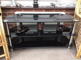Large Glass TV corner unit