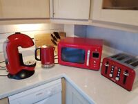 Microwave / Kettle/ Toaster and Coffee Machine (LOT)