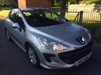 PEUGEOT 308 HDI In FANTASTIC CONDITION With LOW MILEAGE. Ready To Drive Home Today!!!