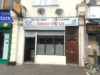 LOCKUP SHOP TO LET - 723 ROMFORD ROAD E12 5AW 1 MINUTE WALK MANOR PARK STATION !!