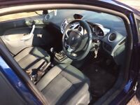 Ford Fiesta five door , 1.6 diesel blue 2010 mot November 2018 cheap tax Road ,