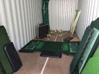 Indoor golf teaching/practice nets