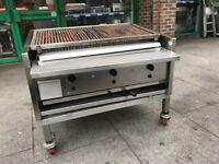 ARCHWAY 3 BURNER GAS CHARCOAL BBQ KEBAB GRILL FAST FOOD RESTAURANT KITCHEN TAKE AWAY RESTAURANT SHOP