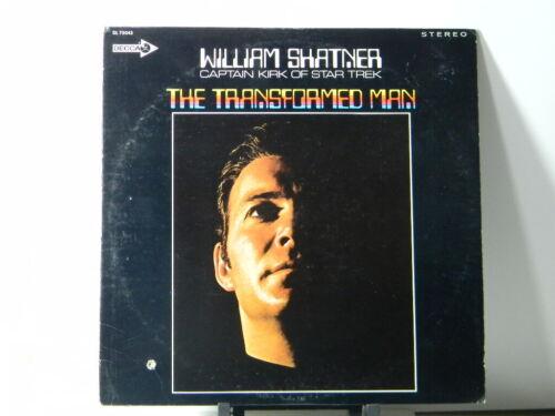WILLIAM SHATNER THE TRANSFORMED MAN 1968 Decca DL75043 CAPTAIN KIRK OF STAR TREK