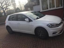2017/67 VW GOLF 7.5 1.6 TDI SE MANUAL 5 DOOR