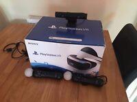 Playstation VR, X2 Motion Controllers, PS Cam V2, Resident Evil 7