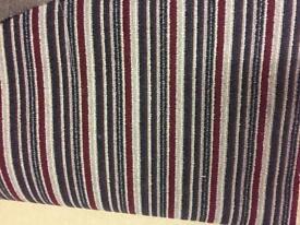 Stripe carpet roll end 4m x 5m