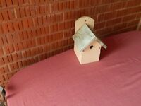 WOODEN BIRD HOUSE FOR SALE