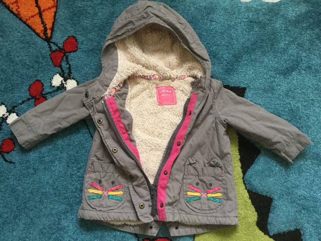 ab086632f4b9 Baby girl 9-12 months Next coat