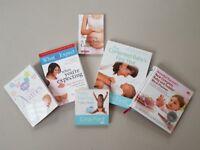 Pregnancy & Baby Books Bundle + FREE 3 Cookbooks + FREE Old Pregnancy Magazines