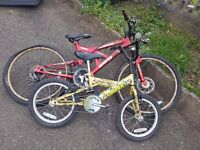 2 Childrens Bicycles