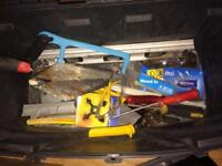 Heavy duty tool box and contents
