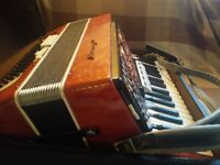 Accordian 34 key, 72 bass, AKKO, £200