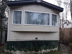 Beautiful 2015 6 Berth Static Caravan with Pretty Fenced Garden and Space for 2 Cars