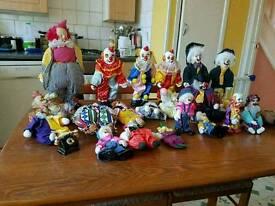 China clowns