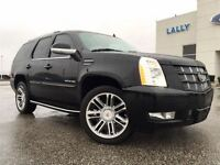 2013 Cadillac Escalade Leather NAV DVD Roof Black Appearance Pac