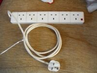 Electric Extension Lead (6 outlets) Full Working Order