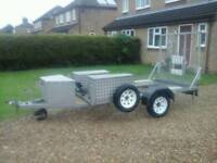 Paxton trailer 9ft x 5ft
