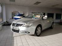 2008 Volkswagen vw eos 2.0 fsi coupe convertible 12 months mot free warranty