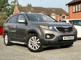2010 KIA Sorento 2.2 CRDi KX-3 4WD 5dr (7 Seats) FSH + HEATED LEATHER + CRUISE CONTROL