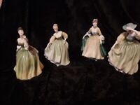 4 x Retired Royal Doulton Figurines - nice collection - joblot -