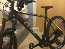 Cube ltd race 29er 2016. Used to by to work and back. Never used to full potential. Few scuff marks
