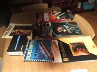 Fishman NEOd Acoustic Pickup,and various books with CDs