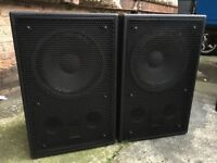 JBL 2226H Bass Bins Speakers 600W RMS like rcf martin audio turbosound