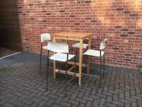 John Lewis Breakfast Table & 4 Chairs
