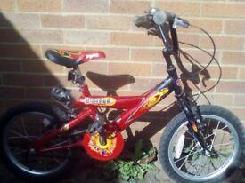Bumper Kids Boys Bike In Red only £25
