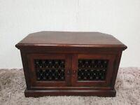 Jali Sheesham TV Unit 2 Doors Comfy Shelves VGC Used Furniture