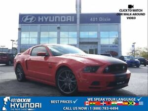 2014 Ford Mustang GT MANUAL LEATHER PARKING SENSORS