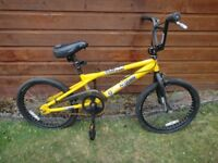 Haro function F3 BMX for spares or repair please have a look at the picture