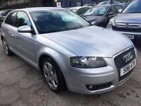 Audi A3 1.6 FSI Sport 3dr FREE WARRANTY, NEW MOT,FINANCE AVAILABLE, P/X WELCOME